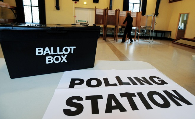 2010 General Election Polling Day