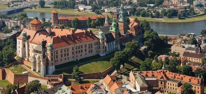 Poland-Cracow-arial-view