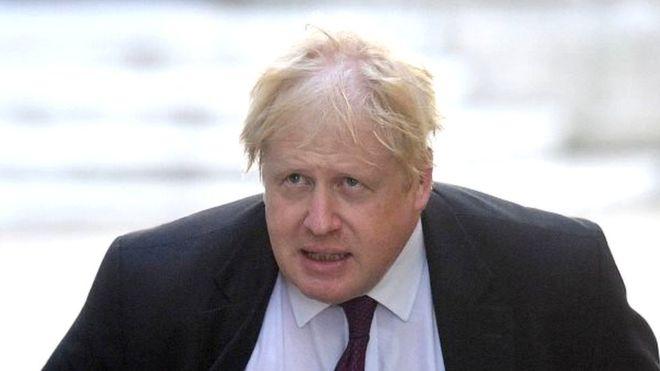 Boris alone
